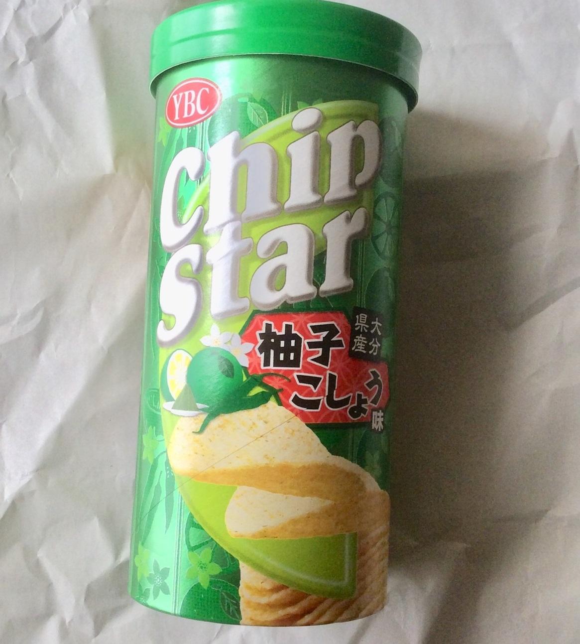 チップスター柚子こしょう